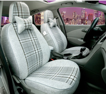 linen car seat covers for HONDA HR-V CRZ XR-V UR-V Fit Odyssey CR-V ACCORD CIVIC stream CITY Patrol Fuga murano Quest Jazz Fit