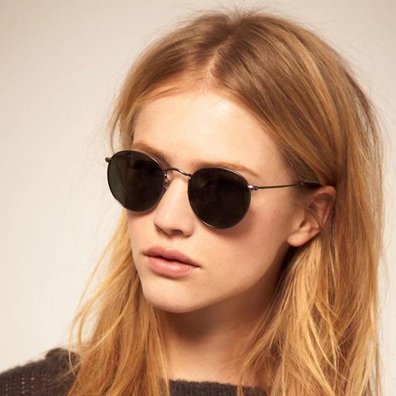 5fd6c07e8ec Detail Feedback Questions about Classic Vintage Mirror Coating Circle Round  Sunglasses Women Men Retro John Lennon Sun Glasses Small Alloy Frame Eyewear  ...