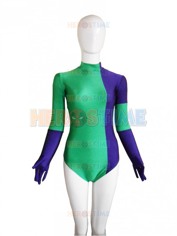 Caitlin Fairchild Superhero Costume Spandex female cosplay costumes hot sale jumpsuits free shipping