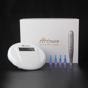 Image 5 - Dropshipping 2019 Permanent Makeup Microneedles Machine V6 Eye Brow Lip Rotary Pen MTS PMU System Needle Skin Care Tool