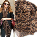 Free Shipping  Woman sought after worldwide Leopard Scarf  spring shawl 2016 new Fashion wraps