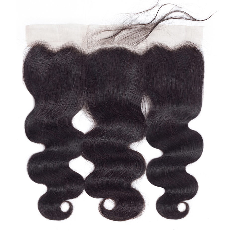 Gabrielle Hair Ear to Ear 13x6 Frontal with Bundles Brazilian Human Hair Body Wave Bundles with Lace Frontal Remy Hair Extension