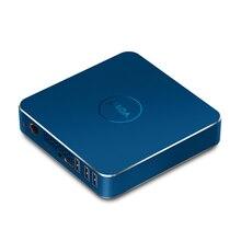 Intel мини рабочего Apollo Lake N3450 Windows 10 Mini PC 4 ГБ DDR3L 128 ГБ 4 К HDMI LAN 1 * RJ45 порт, Поддержка WI-FI и Bluetooth V12