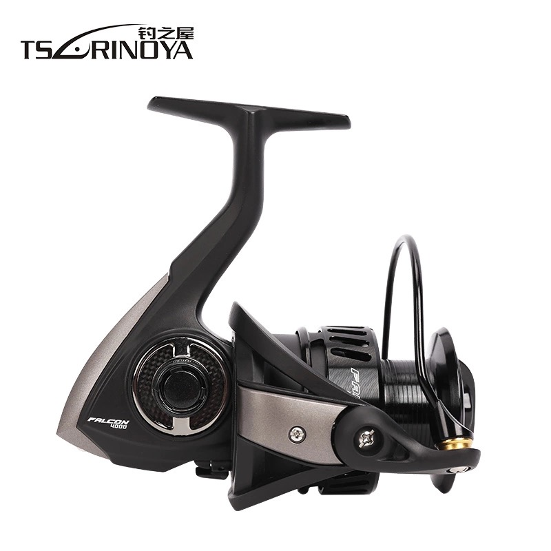 Tsurinoya FALCON4000/5000 Spinning Fishing Reel Metal Spool 8+1BB 5.2:1 11KG Carretes De Pesca Para Mar Moulinets De Peche Wheel toros roquetas de mar