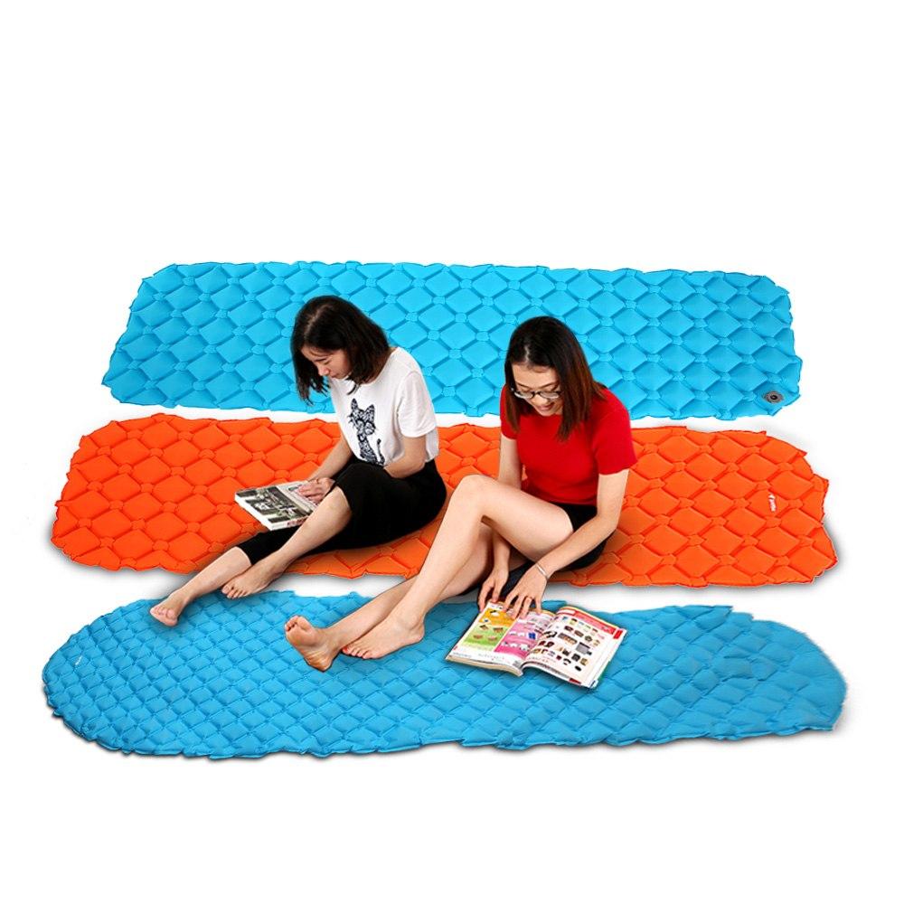 Coussin gonflable en plein Air sac de couchage tapis de couchage gonflable tapis de Camping sac à dos Camping voyage Air Cell coussin de couchage