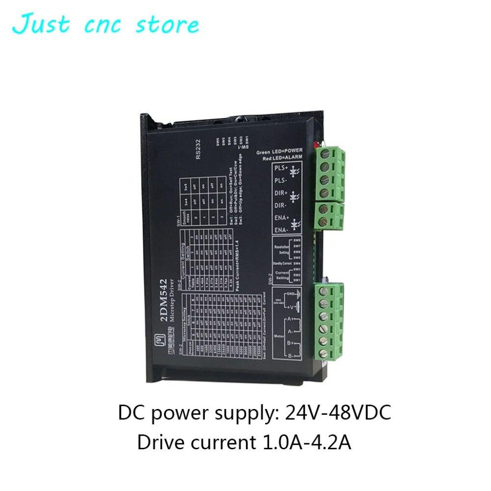JMC two phase stepper motor driver for 42mm 57mm 2DM542 DC 24-50v CNC kit