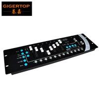 Бесплатная доставка DMX 192 контроллер дешевые цены Универсальный DMX-512 свет этапа контроллер DMX 512 консоли TP-D01 черный Цвет