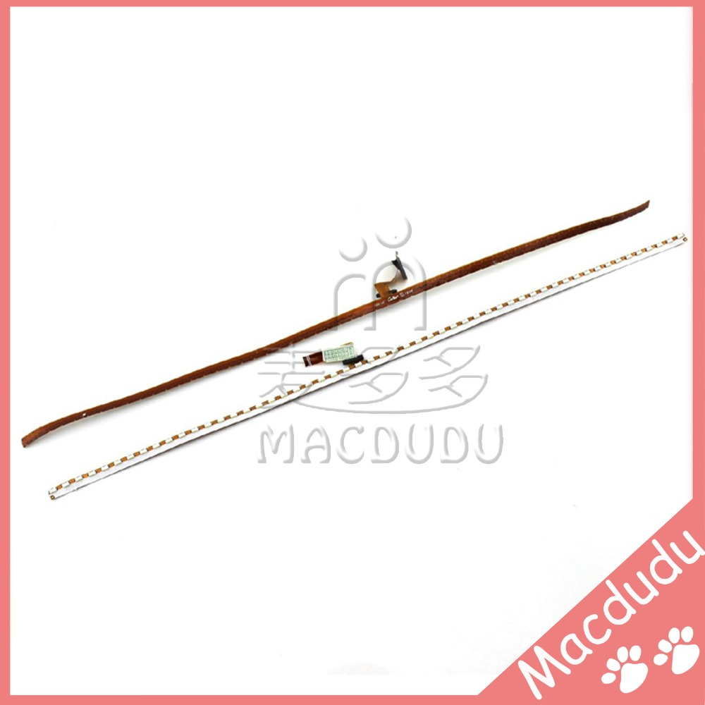 LED Backlight Strip Back Light Screen Lighting For 11 Macbook Air A1465 A1370 MC506 MC505 MC968 for macbook air 13 a1369 led backlight strip with lcd screen display back rear reflective sheets original 100%working