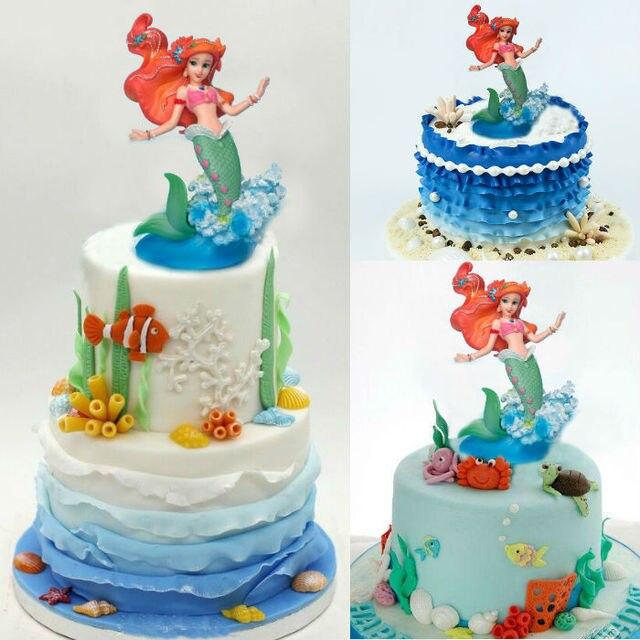 Prinzessin Schaufenster Ariel Glocke Figurine Modell Spielzeug Figur