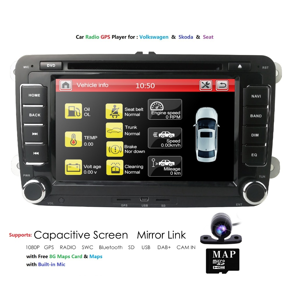 Hizpo 2 din 7 Car DVD radio Multimedia player For Seat Leon 2 2006-2011 RDS FM GPS Navigation car audio stereo AutoradioHizpo 2 din 7 Car DVD radio Multimedia player For Seat Leon 2 2006-2011 RDS FM GPS Navigation car audio stereo Autoradio
