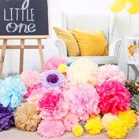 40 개 (10 센치메터, 15 센치메터, 20 센치메터, 25 센치메터) 휴지 리딩 믹스 컬러 인공 꽃 공 웨딩 파티 홈 장식 매달