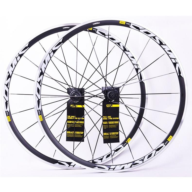 bike bicycle Wheels 700C BMX Road Bicycle Wheel V Brake CNC Aluminium Alloy Road Wheelset Bicycle Wheel set title=