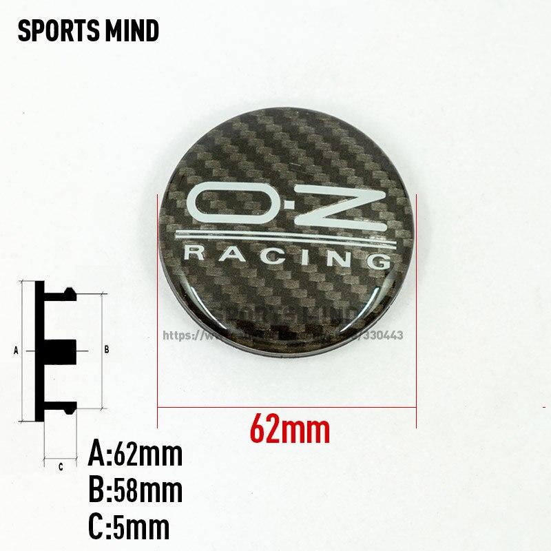 20PCS lot BLACK 62MM OZ Racing Car Wheel Center Hub Caps Alloy Wheel Rim Center Hub