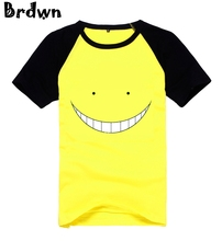 Cosplay Assassination Classroom Korosensei Unisex 100% Cotton Short-Sleeved T-Shirt Tee Shirt Tops Summer Wear