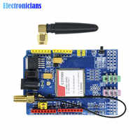 Sim900 850/900/1800/1900 mhz gprs/gsm placa de desenvolvimento módulo kit para arduino