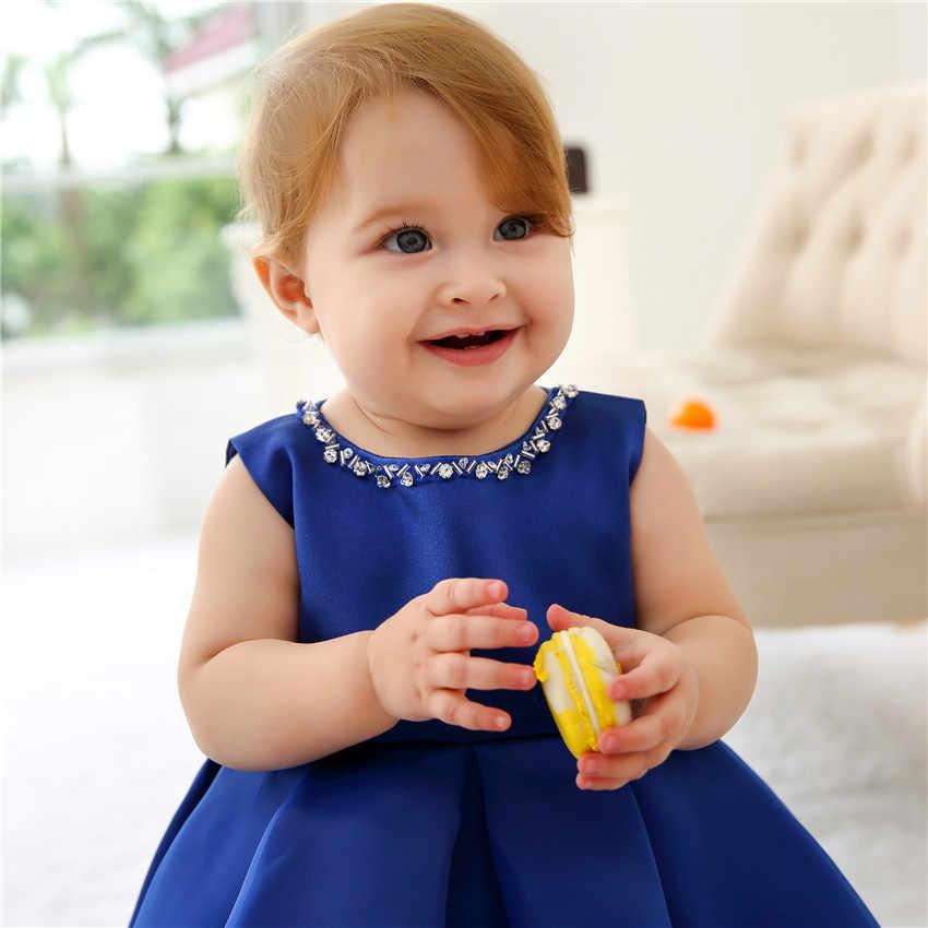 วินาทีวันเกิดชุดสาวปาร์ตี้ 1 2 ปีเด็กผู้หญิงชุดทารก Baptism Gowns ชุดเด็กผู้หญิงสำหรับงานแต่งงาน