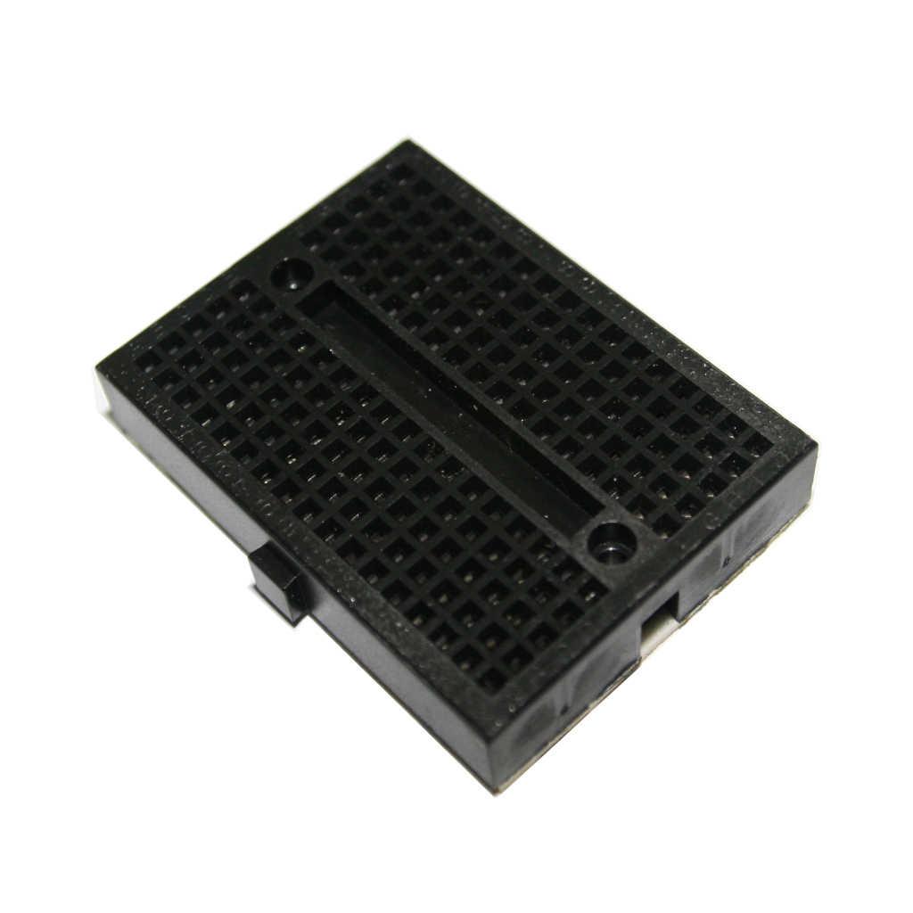 SYB-170 миниатюрный беспаечный прототип экспериментальный тестовый Макет 170 точек связи 35*47*8,5 мм для Arduino diy kit