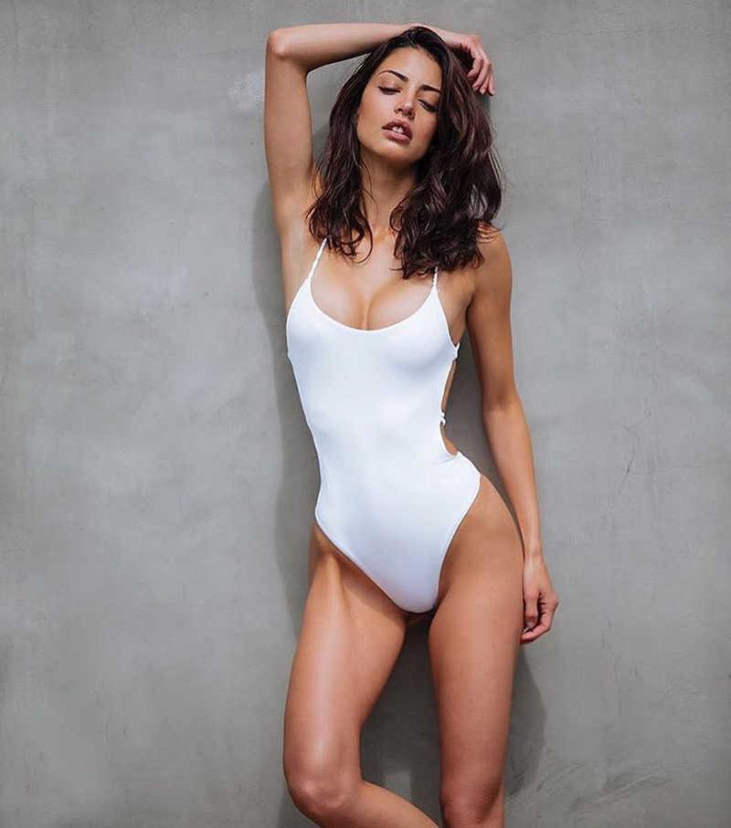 Hở Lưng Bikini 2019 Bộ Đồ Bơi Nữ Plus Kích Thước Đồ Bơi Nữ 1 Mảnh Nữ Quần Bơi Monokini Badpak Trikini