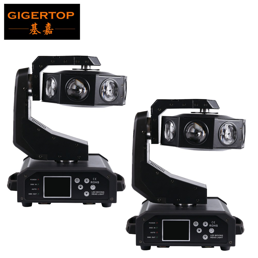 TIPTOP High Quality Party Decorative Indoor Moving Light Christmas Light 8*40W Cree Led UFO Moving Head Light