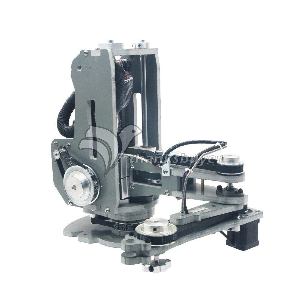 Alta Qualidade Robô SCARA Braço Mecânico do Manipulador Mão 4 Axis Stepper Motor Montado Nenhum Controlador