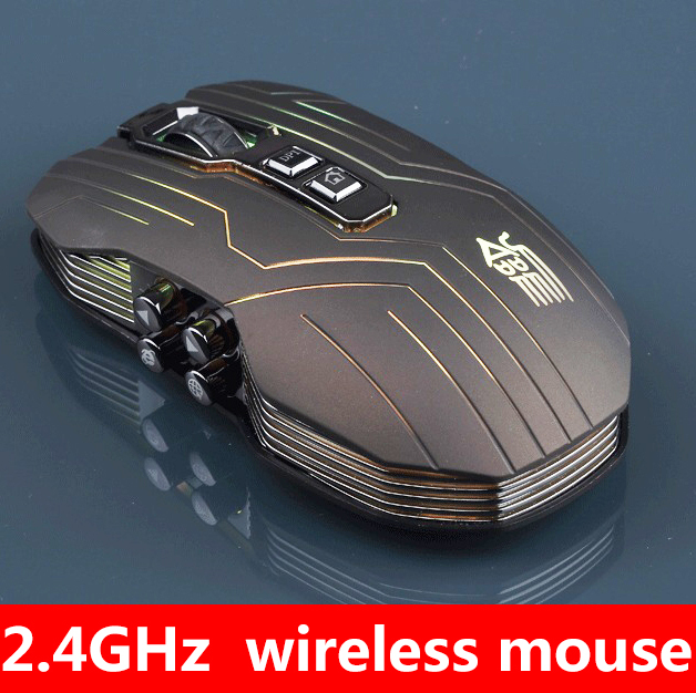 9D Button 3200DPI Optical 2.4G Wireless Gaming Mouse DotA FPS Laptop PC Computer Dave - Field China Technology Co., Limited store
