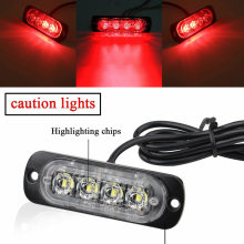 DC Car Flash Light Beacon Warning Hazard Flash Strobe Lamp Bar With Accessories(China)