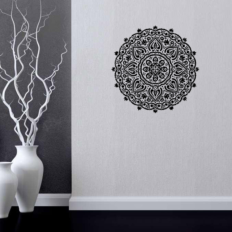 Budističke umjetničke zidne naljepnice Indija Mandala Naljepnice - Kućni dekor - Foto 4