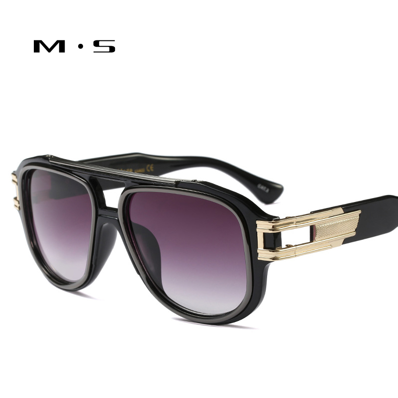 MS 2018 male Sunglasses Brand Designer Sunglasses Summer Sun Glasses Fashion Men Luxury Decoration Classic Eyewear UV400