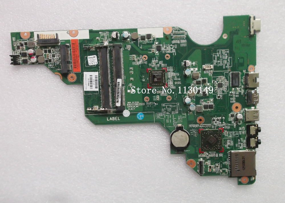 Free shipping Original Laptop Motherboard 689072-001 for HP 655 E1-1800 689072-501 689072-601 Notebook Mainboard 100% Tested free shipping laptop motherboard 746447 501 for hp touchsmart 15 envy15 hm87 740m 2g 746447 001 notebook system tested