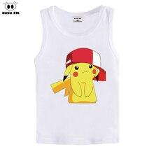 Pokemon идут майка дети одежда мальчики рождество детские футболки малыша покемон одежда футболки для мальчиков костюмы для девочек