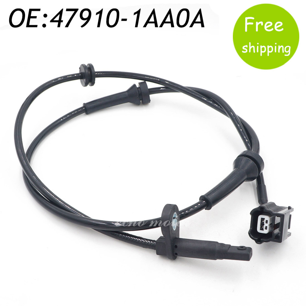 New ABS Wheel Speed Sensor 47910-1AA0A Front Left Right For Nissan Murano Titan