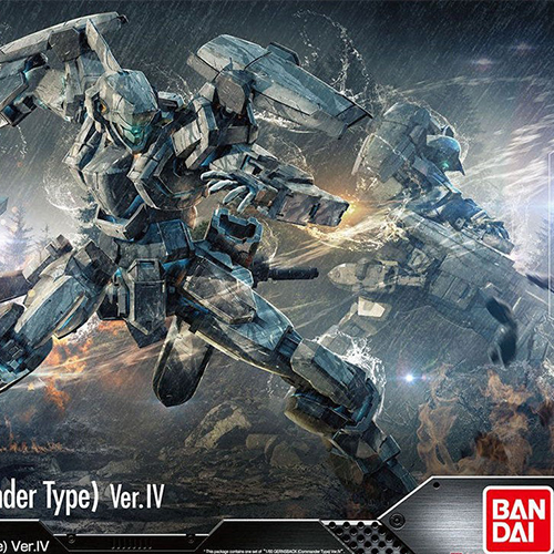 Bandai Genuine Invisible Victory 1 60 FULL METAL PANIC M9 MAO S GERNSBACK VER IV Assemble