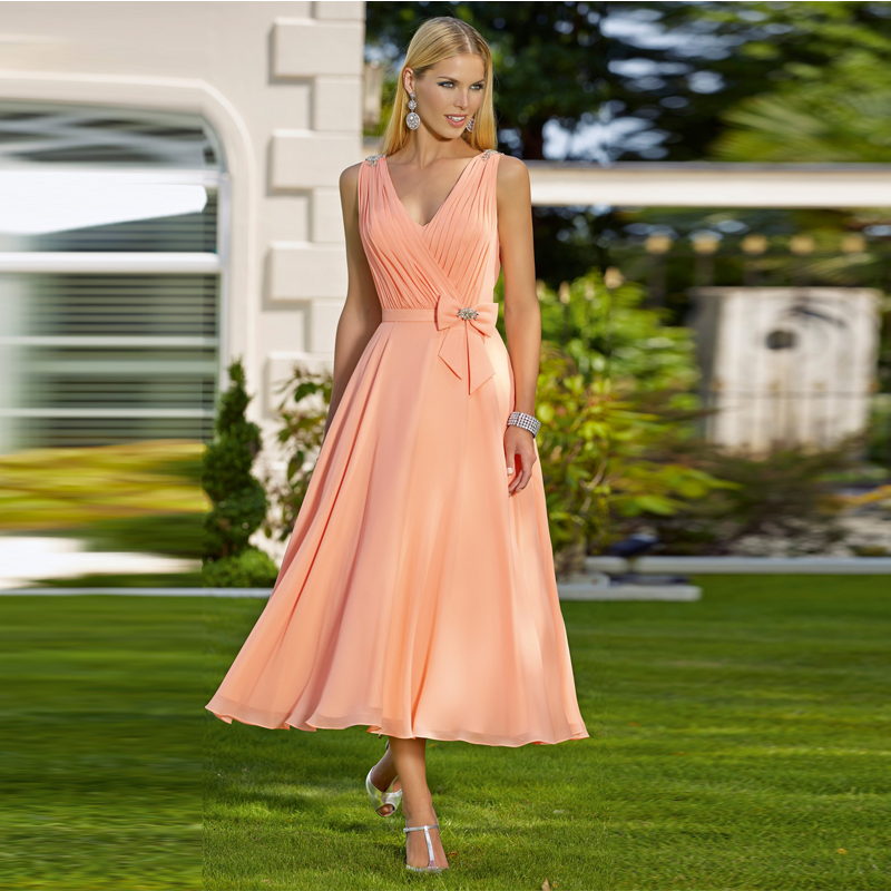 Compare Prices on Cheap Tea Length Bridesmaid Dresses- Online ...