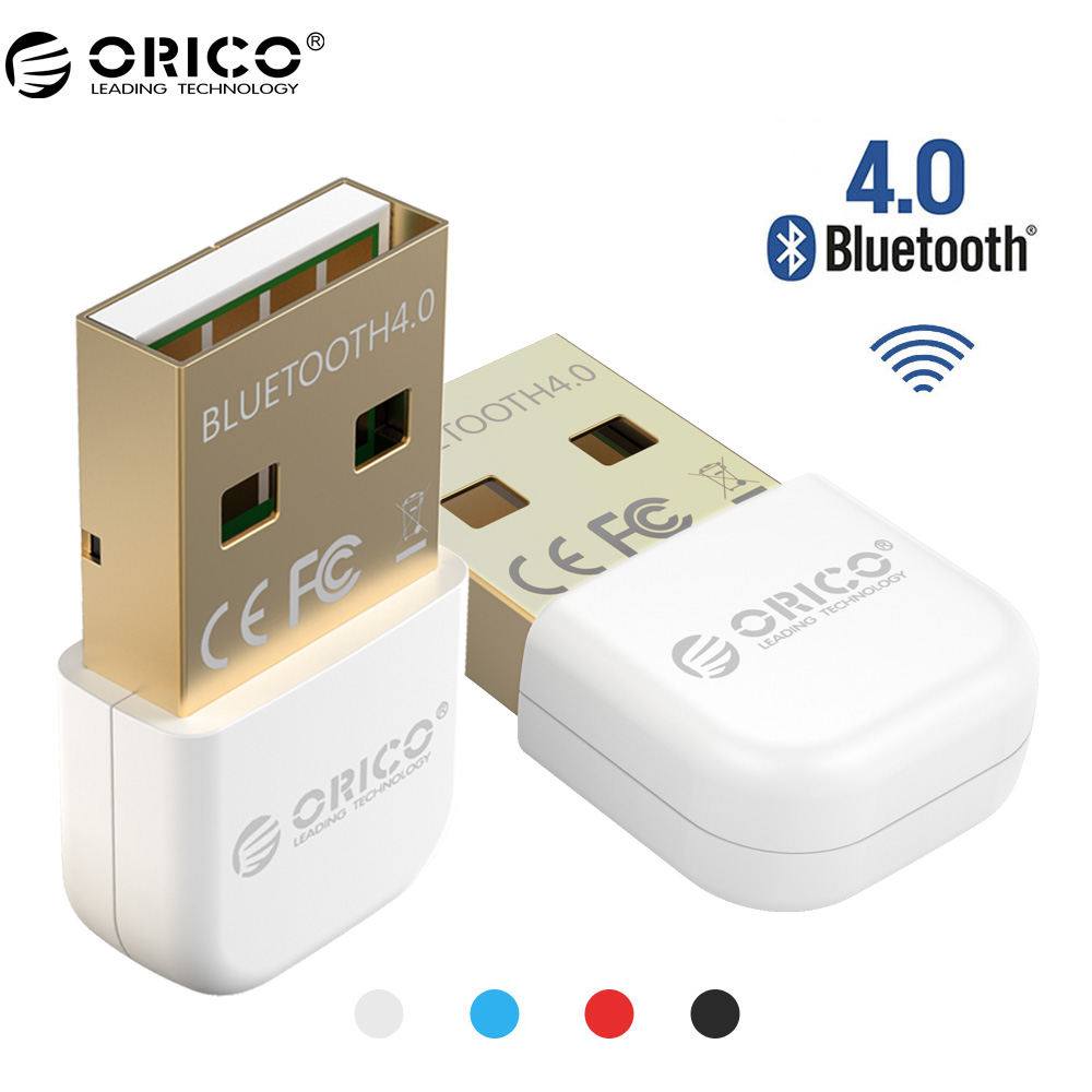 цена на ORICO BTA-403 Bluetooth Mini Bluetooth 4.0 Adapter For Your Phone and Tablet- White