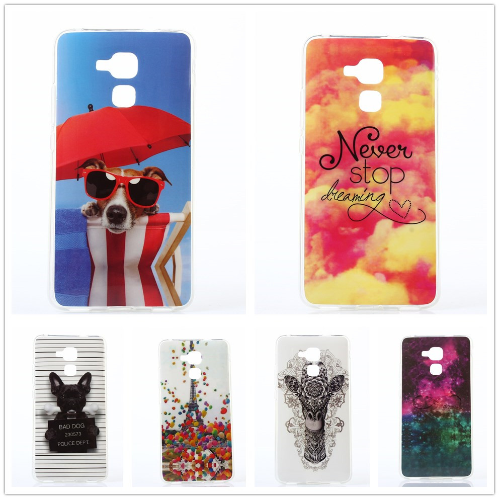 For Honor 5C Case Tribe Cartoon Rubber TPU Cases For Huawei Honor 5C GT3  Honor 7 f5c1c594633a