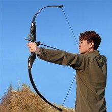 양궁 recurve takedown bow 25 30 35 lbs 초보자 연습을위한 오른손 사냥 슈팅 훈련