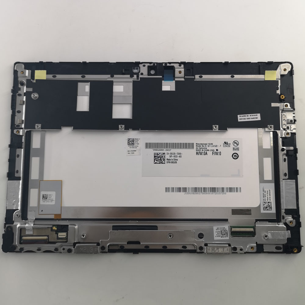 """1920*1200 B101UAN01.7 lcd For 10.1"""" Dell Venue 10 Pro 5000 Touch Screen Panel Digitizer Glass + LCD Display Assembly with frame"""
