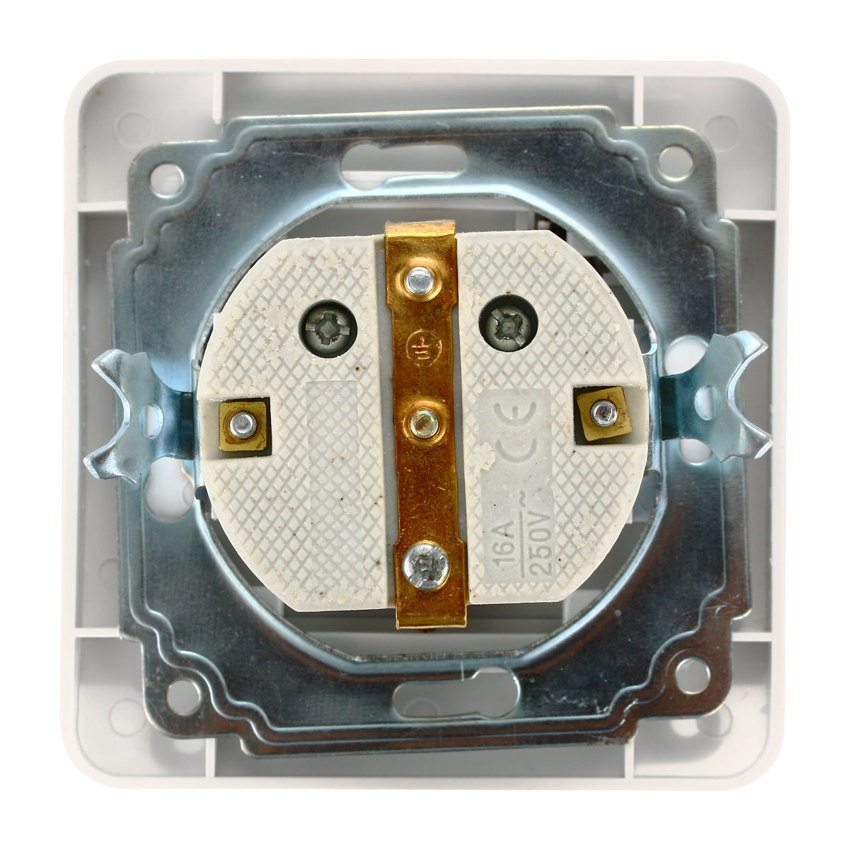 16a 250v korea wiring receptacle power outlet schuko germany european ac power socket bi132