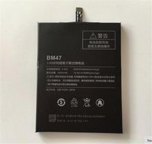 Для Xiaomi Redmi 3 S Батарея BM47 Высокое Качество Большая Емкость 4000 мАч Запасная Аккумуляторная Батарея К Redmi 3X Hongmi 3 S Smart телефон