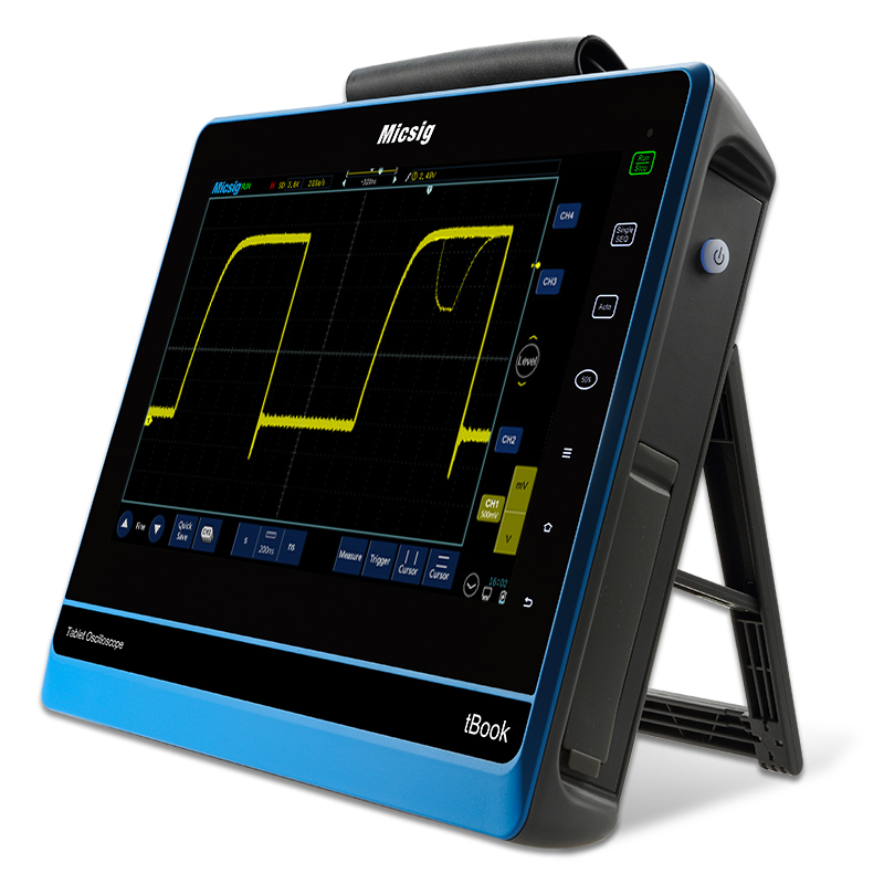 Micsig oscilosc pio digital 150MHz 200MHz digital oscilloscope virtual touchscreen oscilloscope portable oscilloscope lcd diy