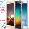 """Original xiaomi redmi 3 s prime snapdragon 430 do telefone móvel 4100 mah bateria id de impressão digital 3 gb de ram 32 gb rom 5.0 """"Corpo de Metal"""