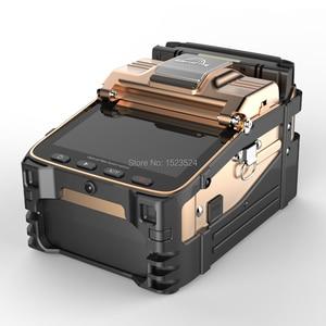 Image 3 - AI 8C SM & مم التلقائي FTTH الألياف البصرية الربط آلة انصهار الألياف البصرية جهاز الربط