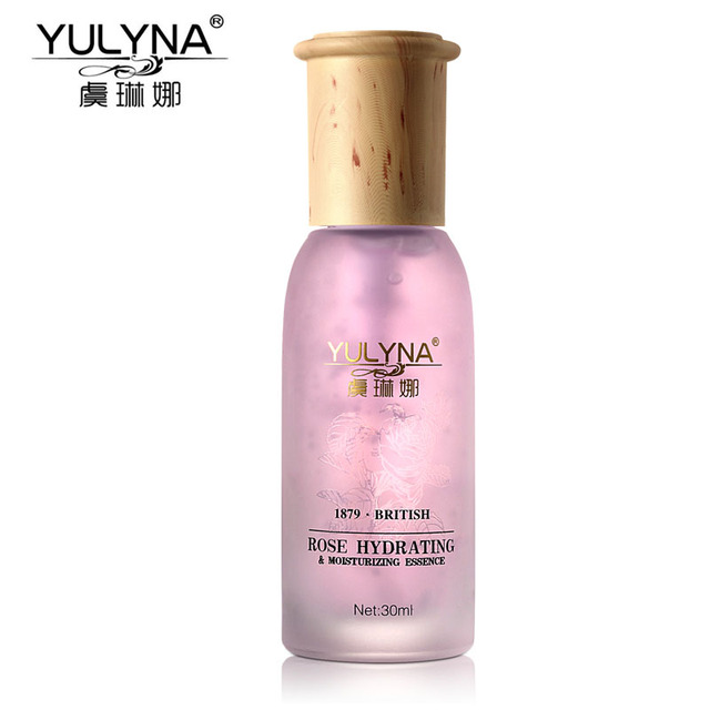 YULYNA Rose Hydrating Moisturizing Essence Face Care Whitening Acne Treatment Instantly Ageless Anti Winkles Beauty