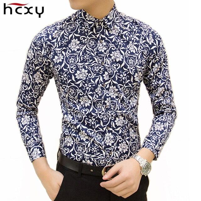 dd0d7eb9117f4 HCXY Colorido libre del envío de primavera y verano moda ropa de marca para hombre  camisa