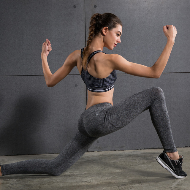 Yoga Pants Quick Dry Elastic Trousers
