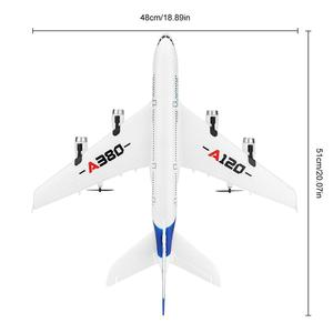 Image 5 - RC Air passenger aircraft A380 Airplane 2.4G 3CH Simulation EPP Fixed Wing Remote Control Aircraft Outdoor RC Plane Toys