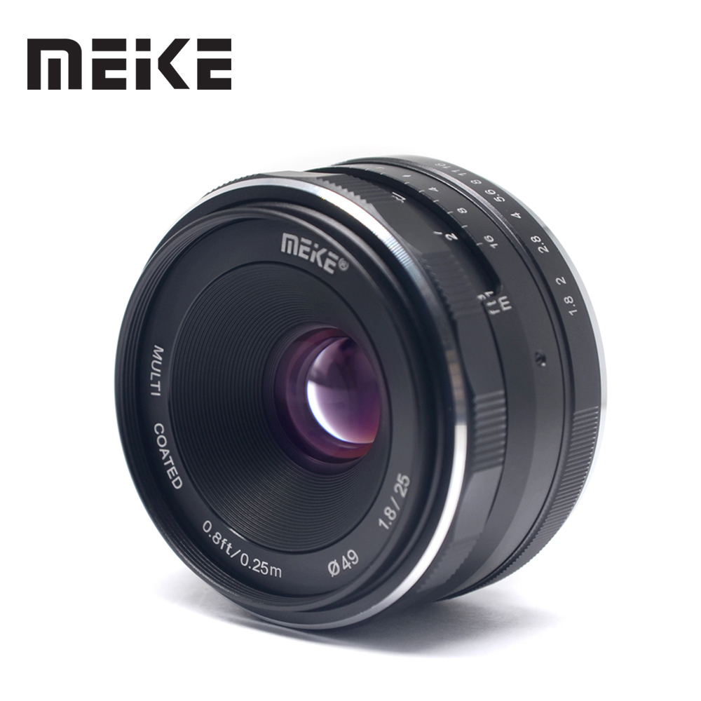 все цены на Meike MK 25mm f/1.8 APS-C Wide Angle Lens Manual for Canon EF-M EOS M1 M2 M3 M5 M6 M10 M100 Mirrorless Cameras
