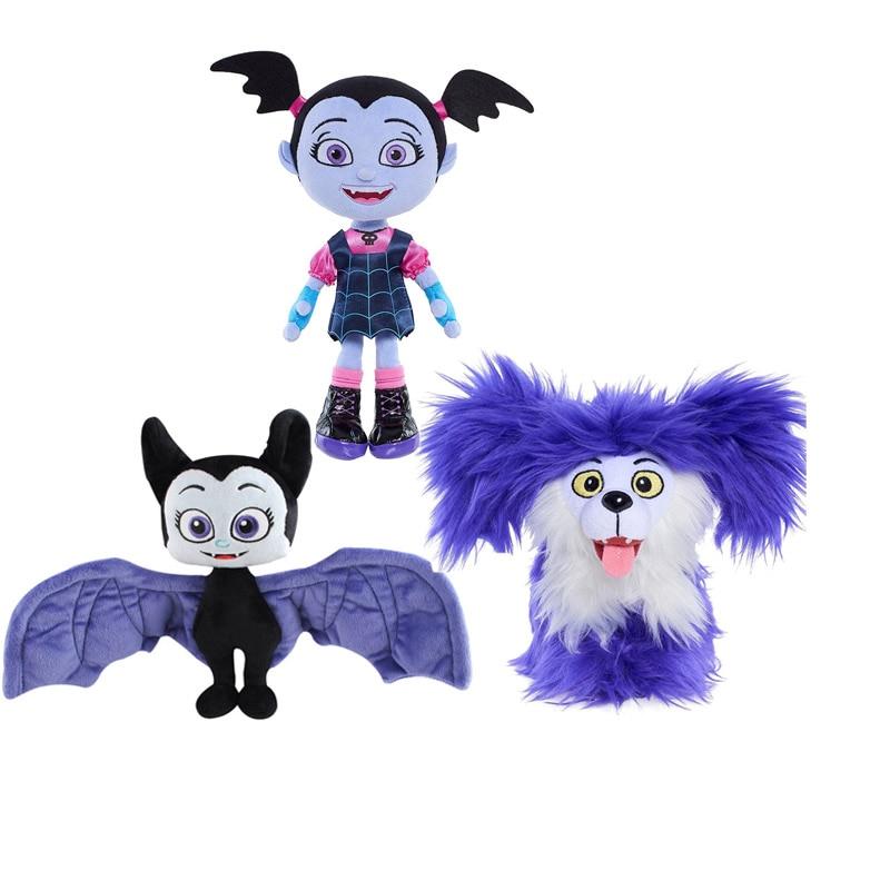 Wholesale 30pcs lot New Toys soft Cartoon Animals Dog Bat plush doll The Vampirina Plush Toys