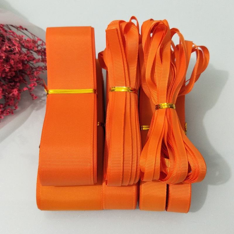 Bright Red Satin Ribbon Roll 38mm 25mm 15mm 10mm  6mm 3mm Width Various Length