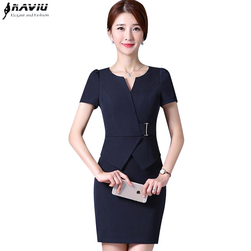 Spring formal wear dress female Korean version OL fashion elegant ... d70d651c7df8